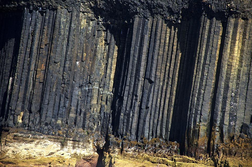 Scotland, Basalt, Nature, Symmetry, Volcano, Pillar