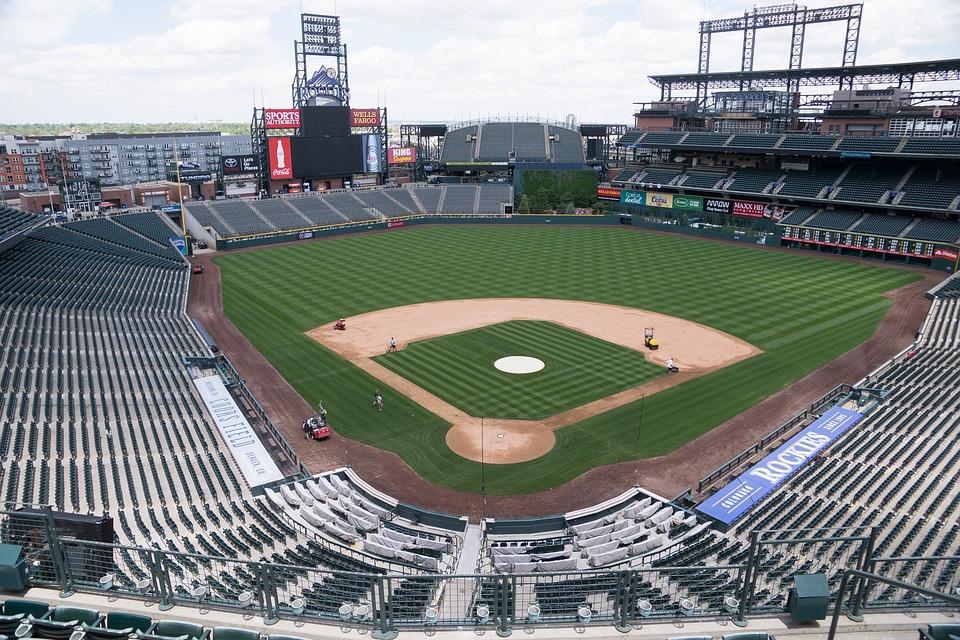 Baseball Stadium, Denver, Coors Field, Baseball, Empty