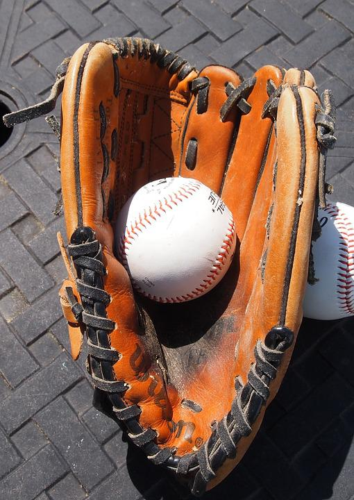 Baseball Glove, Baseball, Sports, Glove, Catch