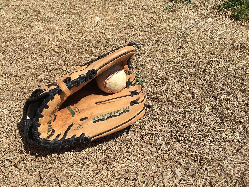 Ball, Glove, Baseball, Sport, Game, Equipment, Mitt