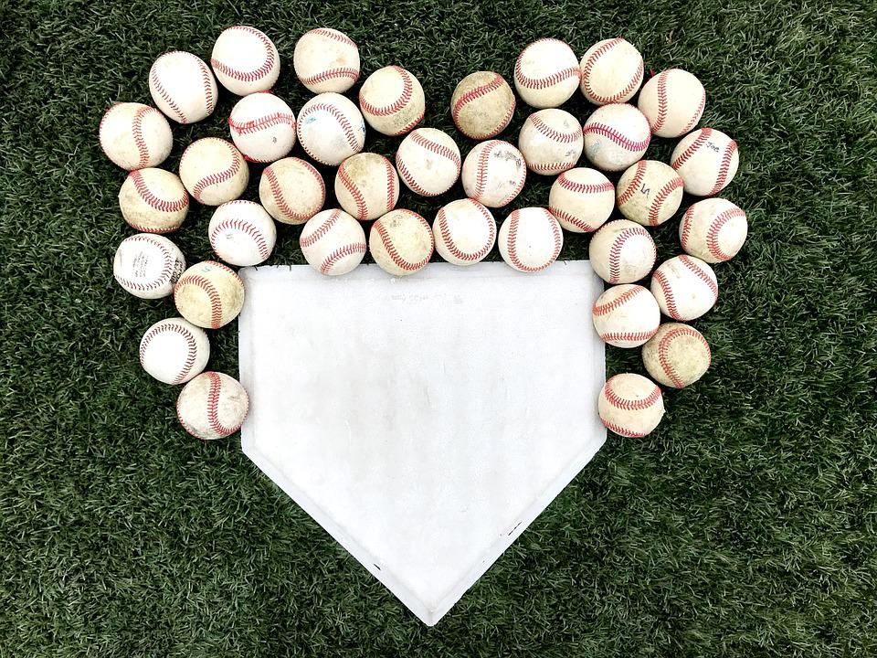 Baseball, Heart, Sports, Love