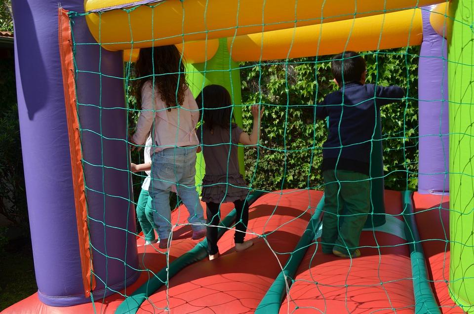 Baseball Player, Children, Jump