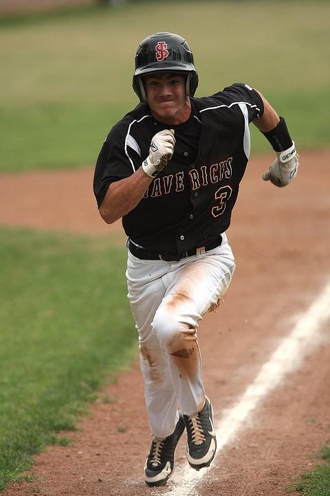 Baseball, Runner, Running, Athlete, Game, Scoring