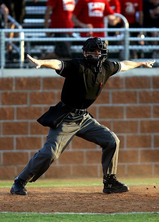 Baseball, Sport, Umpire, Game, Safe, Ruling, Judgement