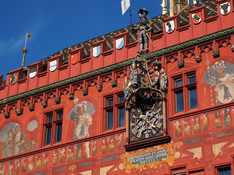 Basel City Hall, Town Hall, Basel, Building