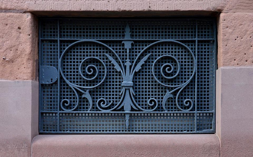 free photo basement art nouveau lattice window basement bars max pixel