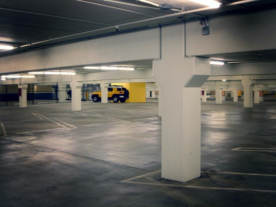 Parking Lot, Parking Deck, Basement Garage