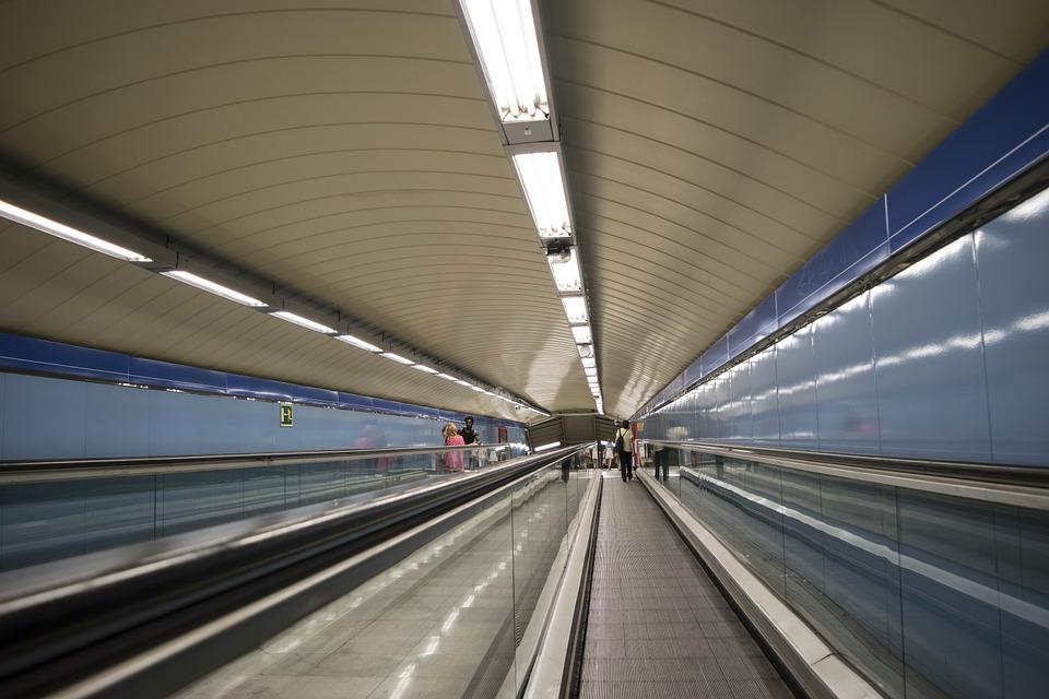 Metro, Madrid, Station, Transport, City, Basement