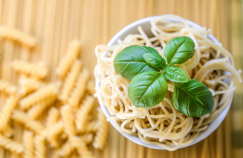 Pasta, Spaghetti, Basil, Food, Cuisine, Italian, Meal