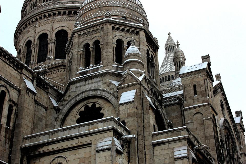 Free Photo Basilica Sacre Paris France Church French Coeur