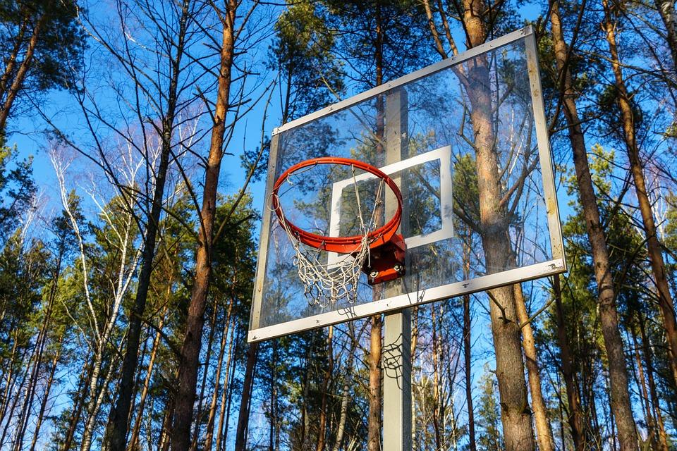 Basketball Hoop, Basketball, Basketball Backboard, Wrap