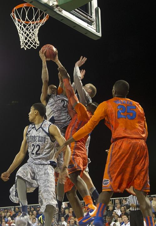Basketball, Game, Basket, Hoop, Teams