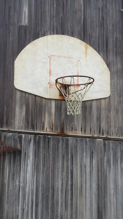 Basketball, Hoops, Barn