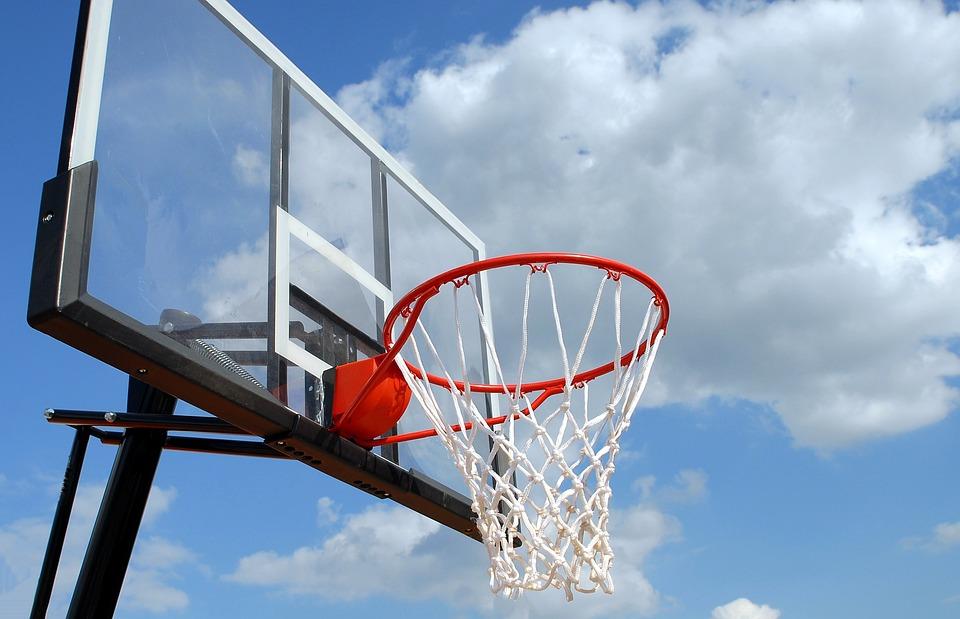 Outdoor Basketball, Rim, Net, Sport, Basketball