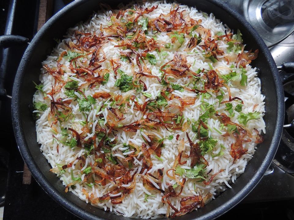 Biryani, Rice, Food, Indian, Cuisine, Asian, Basmati