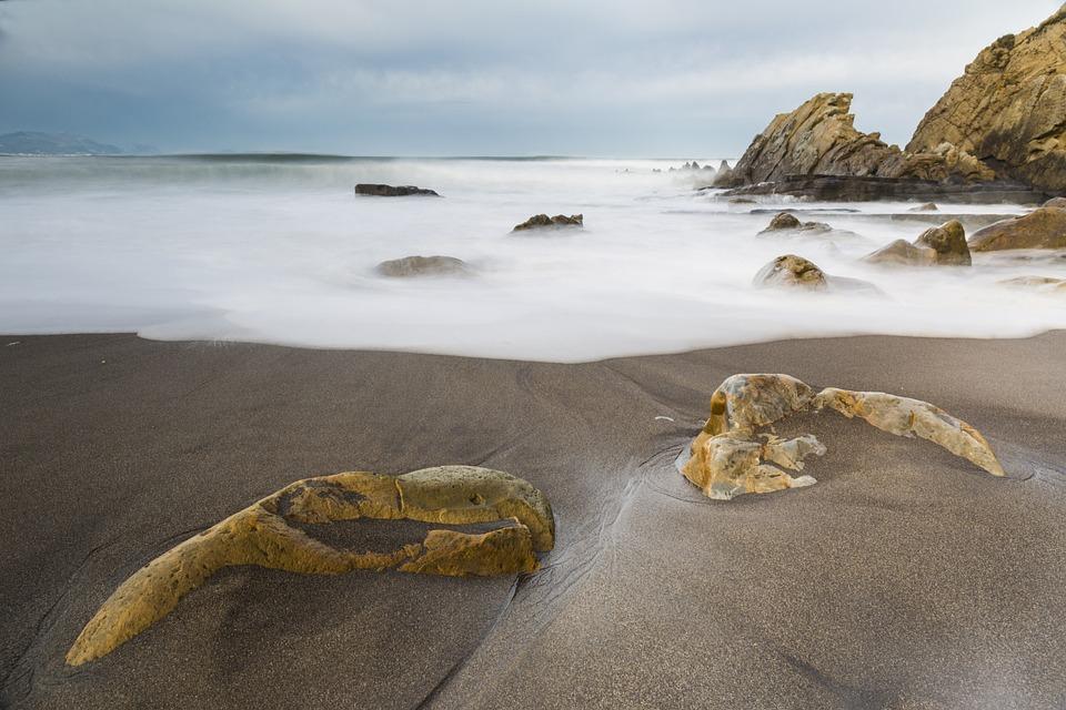 Basque Country, Beach, Sand