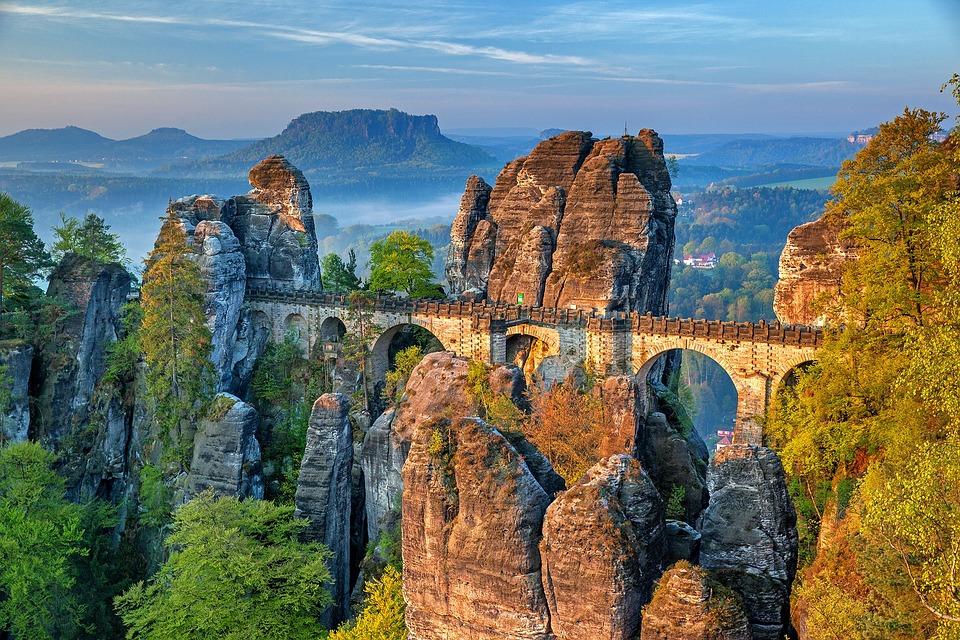 Bastei Bridge, Saxon Switzerland