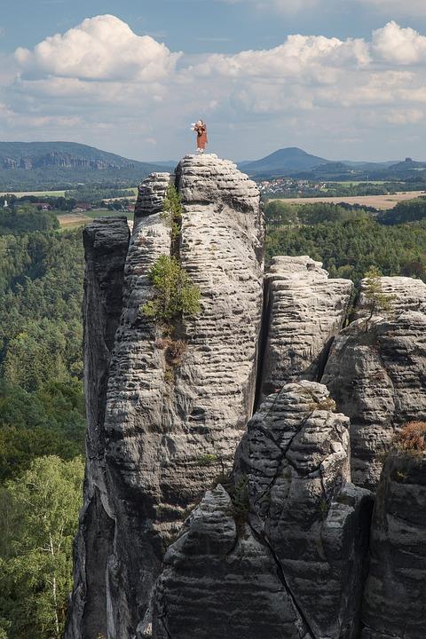 Saxon Switzerland, Bastei, Elbe Sandstone Mountains