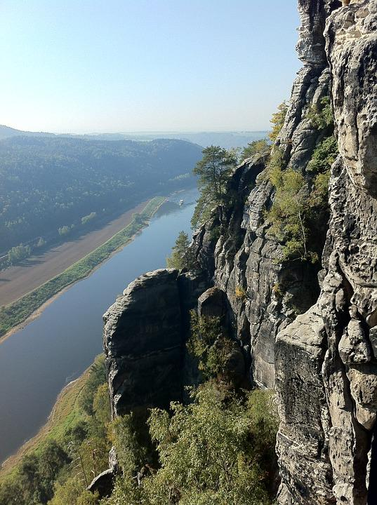 Bastei, Elbe, Rock, Saxon Switzerland