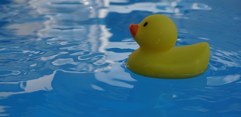 Quietscheente, Rubber Duckies, Bath Duck, Water