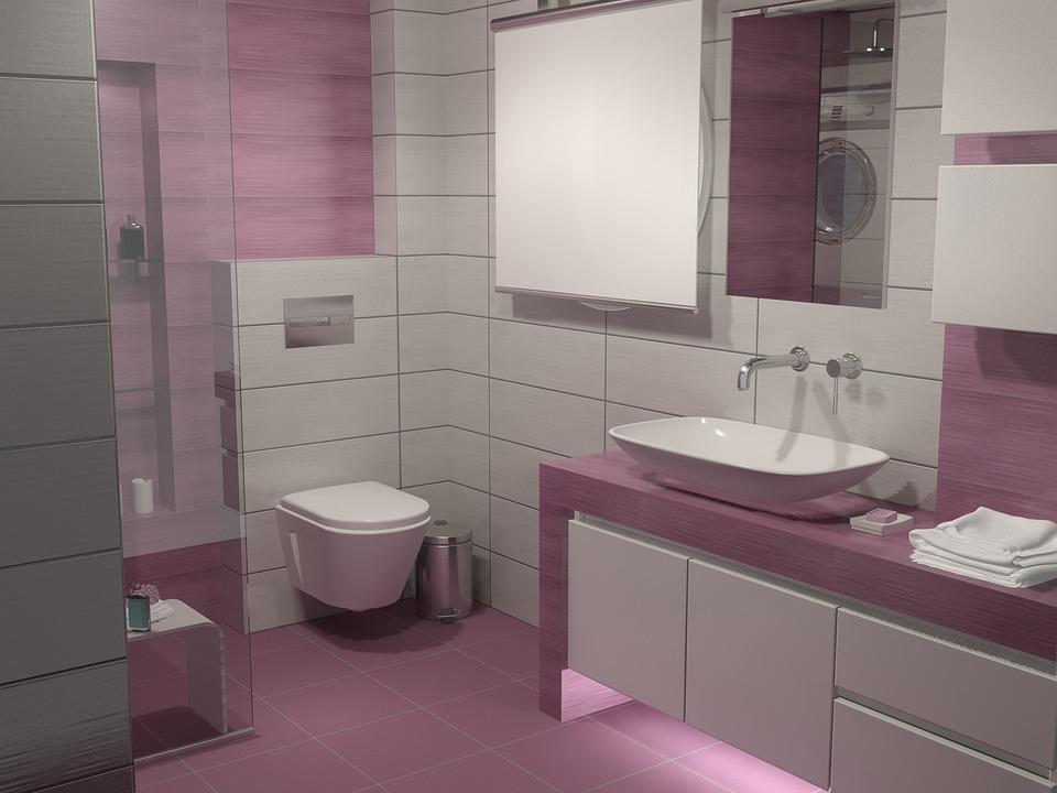 Bathroom, Contemporary, Washcloset, Faucet, Bathtub