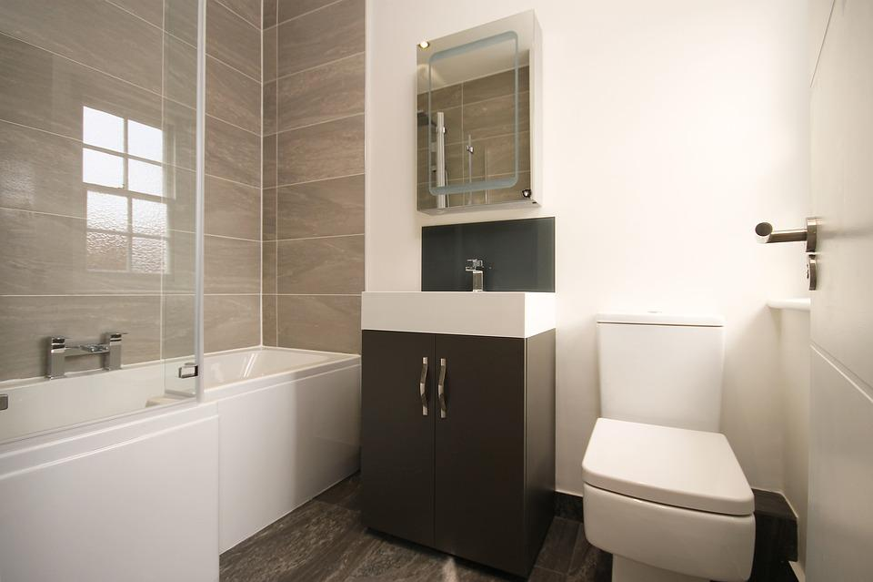 Bathroom, Modern, Modern Bathroom, Home, Interior, Bath
