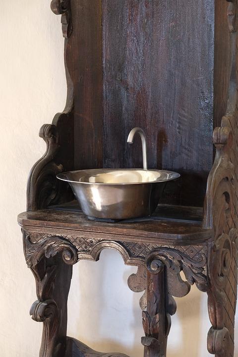 Wash, Basin, Bathroom Sink, Wash Bowl, Bowl, Water