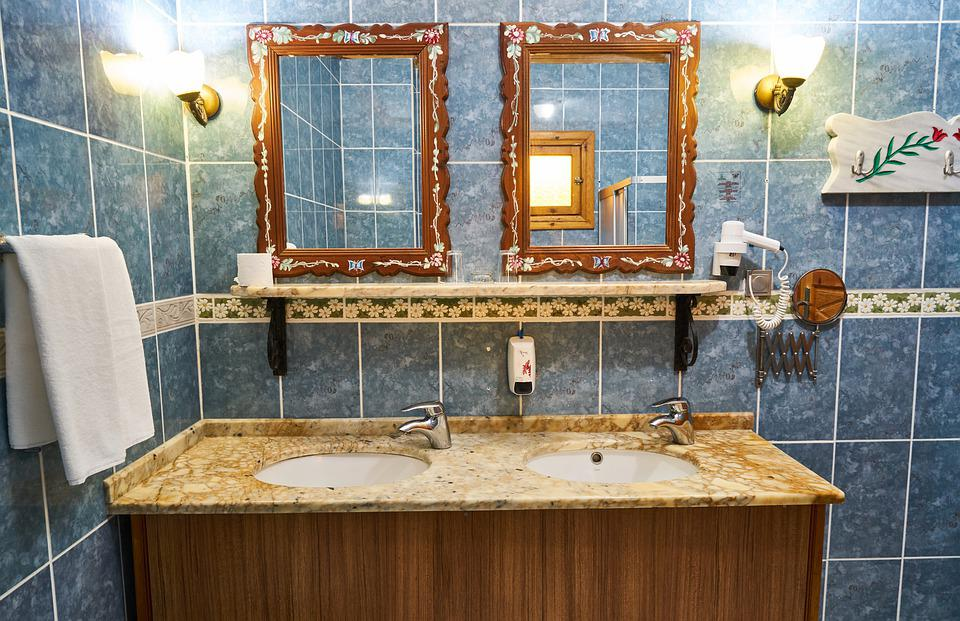 Bathroom, The Mirror, Water, Sink, Home, Room, Circle
