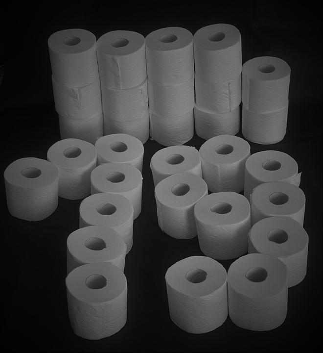 Toilet Paper, Wc, Toilet, Bathroom, Background