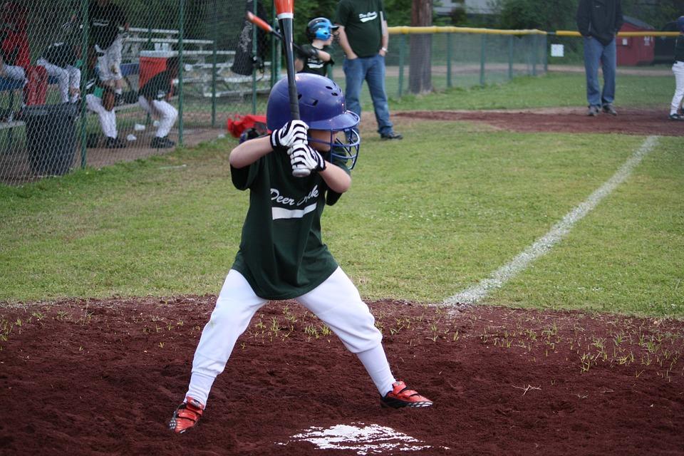 Baseball, Little League, Children, Kids, Batter, Player