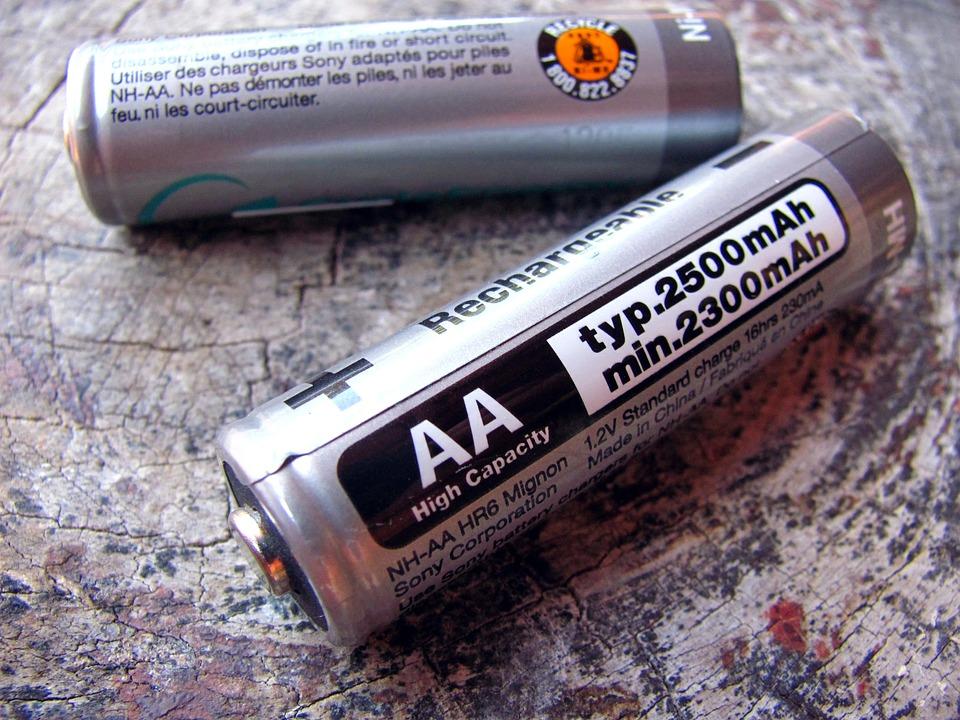 Batteries, Alkaline, Battery, Energy, Aa Batteries
