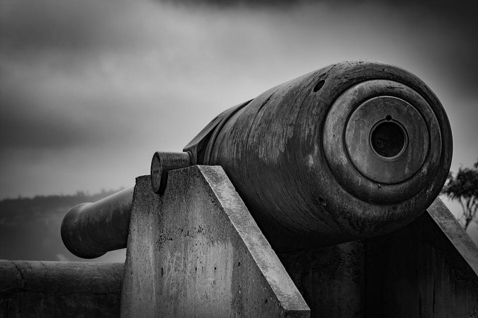 Cannon, Gun, Weapon, Military, Battle, Artillery