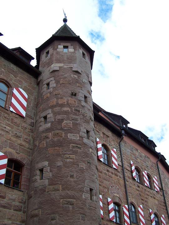 Castle, Tower, Knight's Castle, Battlements, Germany