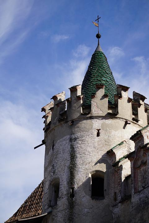 Tower, Castle, Stone, Monastery, Fortress, Battlements