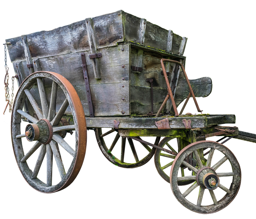 Cart, Oxcart, Transport, Bauer, Middle Ages, Wood