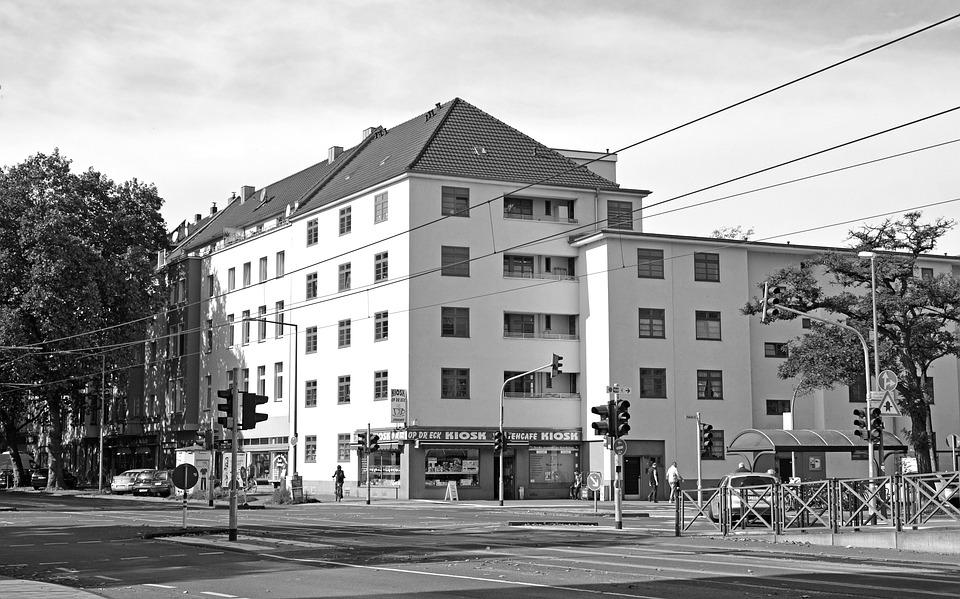 Bauhaus, Architecture, Cologne, Book Forest, Building