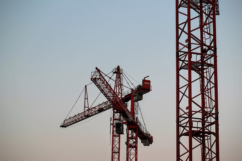 Baukran, Load Crane, Build, Crane