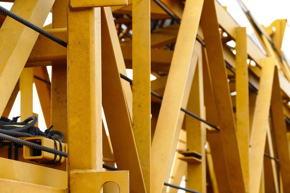 Steel, Industry, Expression, Machine, Baukran, Site