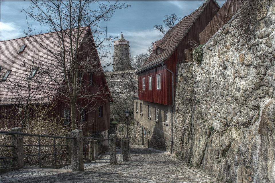 Bautzen, Old Town, City, Water Art, Historically