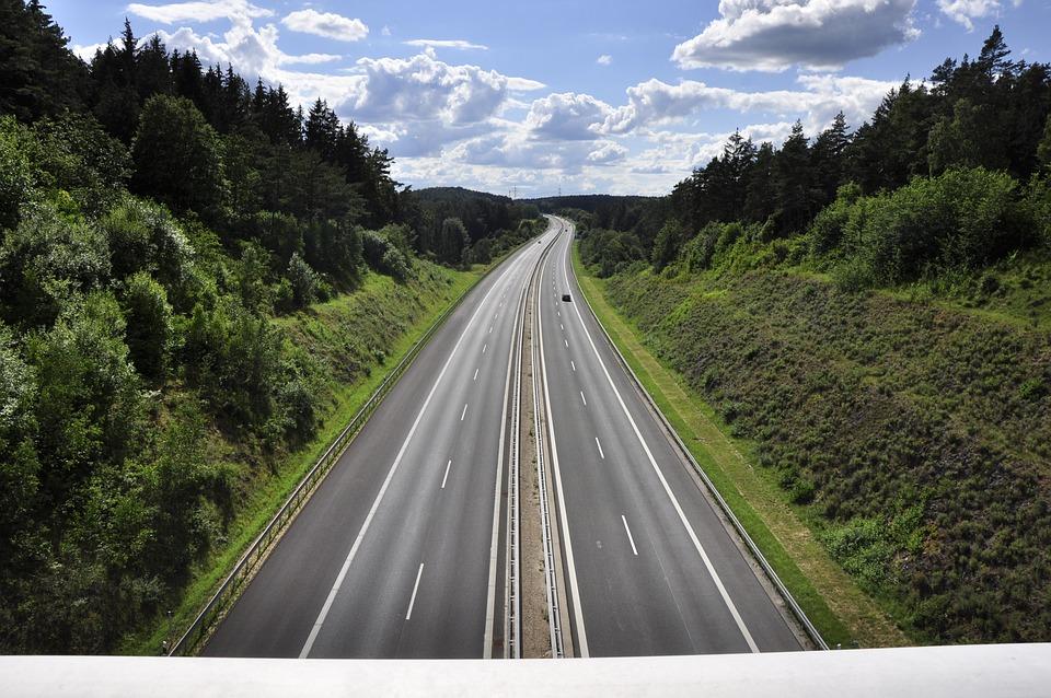 A70 Motorway, Bavaria, Germany