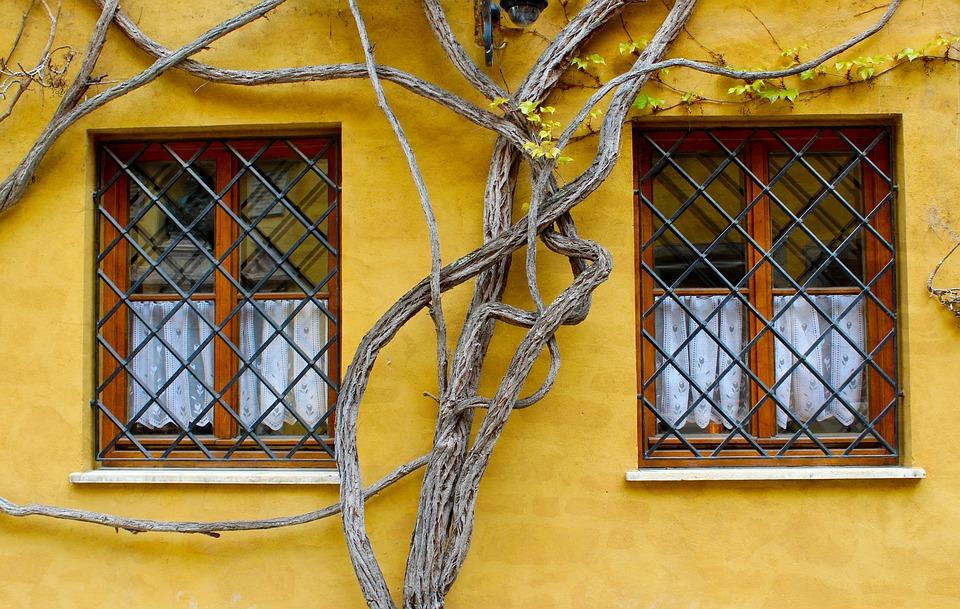 Augsburg, Fuggerei, Window, Building, Bavaria, Germany