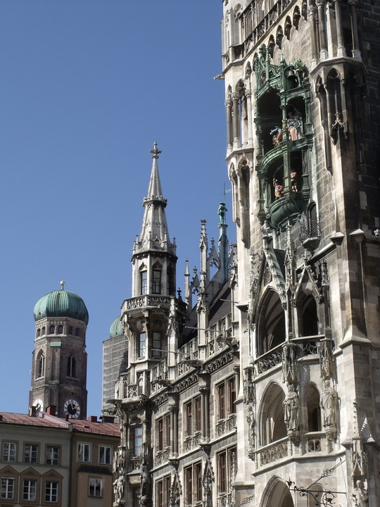 Munich, City, Frauenkirche, Town Hall, Bavaria, Church