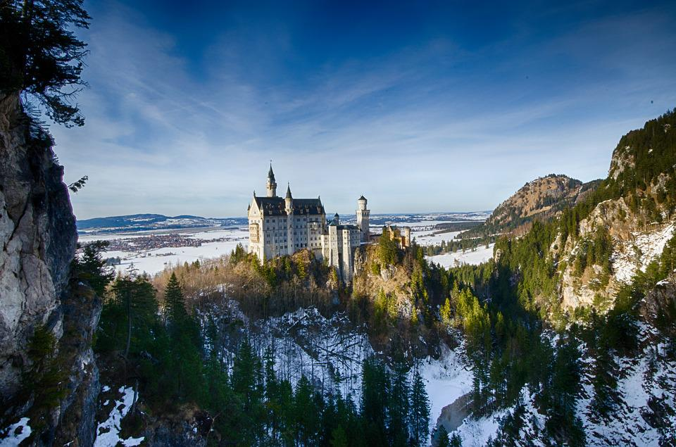 Germany, Bavaria, Castle, Kristin, Fairy Castle