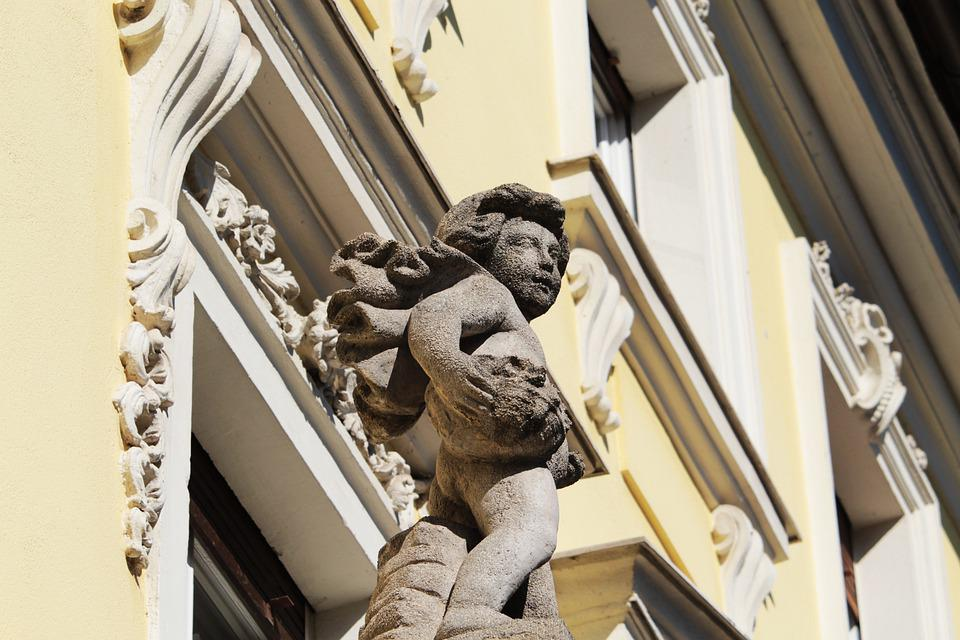 Bayreuth, Bavaria, Upper Franconia, Sculpture, Germany
