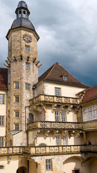 Germany, Castle, Langenberg, Fortress, Bavaria
