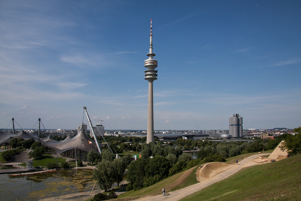 Olympic Site, Munich, Bavaria, Roof, Architecture