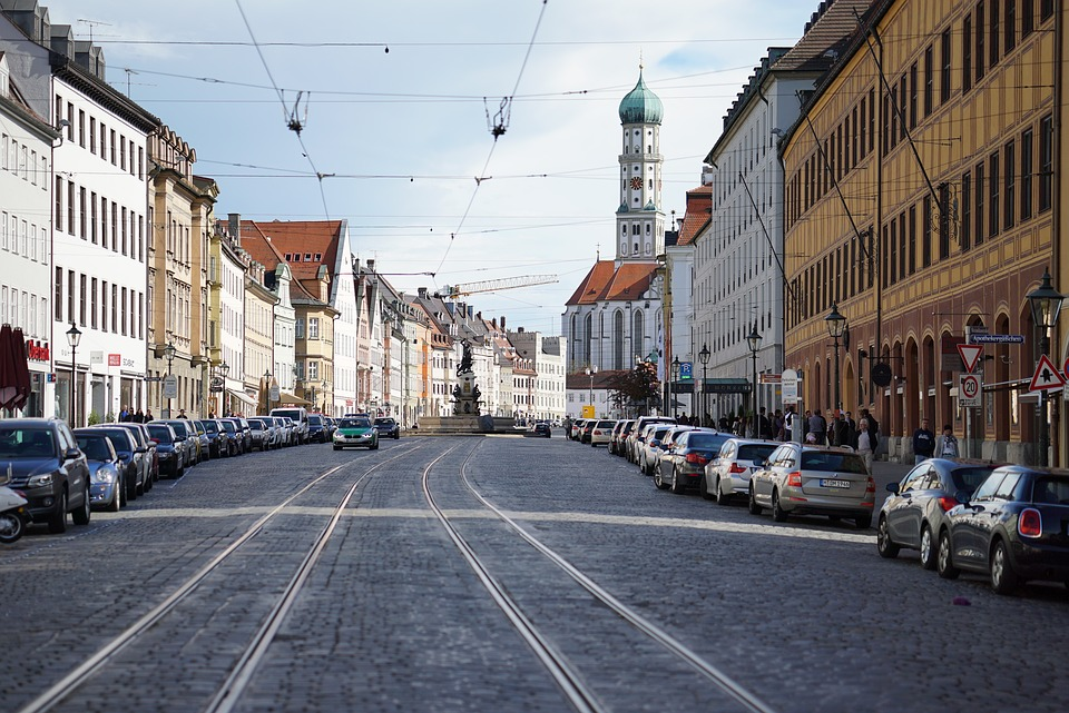 Augsburg, Old Town, Bavaria, Places Of Interest