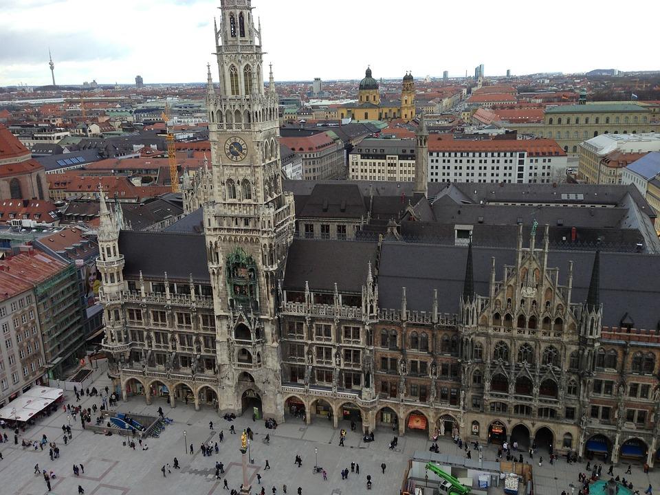 Munich, Town Hall, Marienplatz, Bavaria
