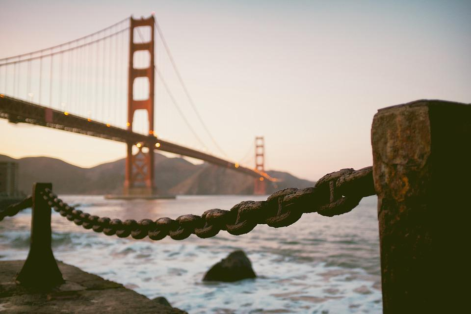 Golden Gate Bridge, San Francisco, Bay, Bridge