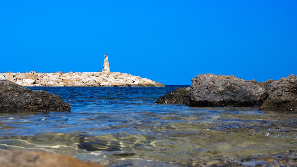 Bay, Blue, Coast, House, Lighthouse, Navigation, Ocean